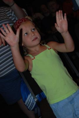 Emma during Worship
